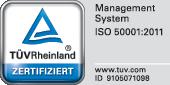 Logo_ISO5001_2011_TÜV_Rheinland